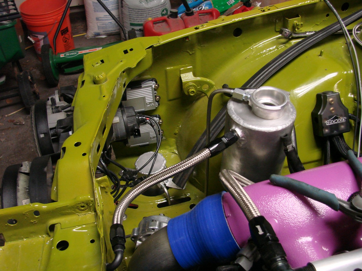 E30gtr More Wiring Newman Motor Diagram Also Mounted The Hid Ballasts In Engine Compartment